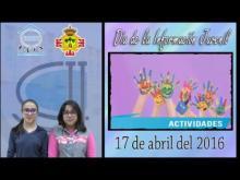 Embedded thumbnail for 17 de abril 2016 Día de la Información Juvenil